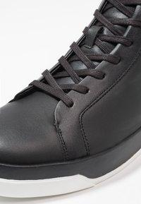 Calvin Klein - FERGUSTO - High-top trainers - black - 5