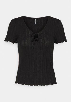 PCTHEIA - T-shirt basic - black