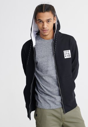 SURPLUS - Zip-up hoodie - black