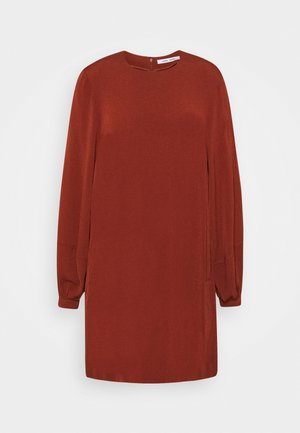ARAM SHORT DRESS - Day dress - brandy brown