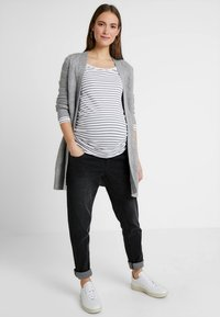 Forever Fit - MOM  - Slim fit jeans - washed black - 1