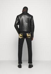Versace Jeans Couture - Veste en cuir - nero - 2