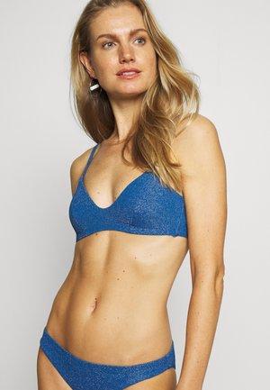 STORMY TRIANGLE - Bikini top - bleu