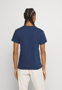 Patagonia - ROAD TO REGENERATIVE RINGER TEE - T-shirts med print - stone blue - 2