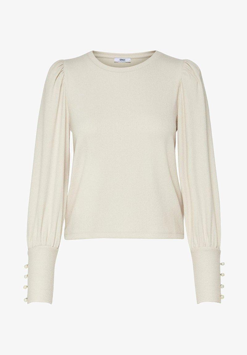 ONLY - Long sleeved top - ecru
