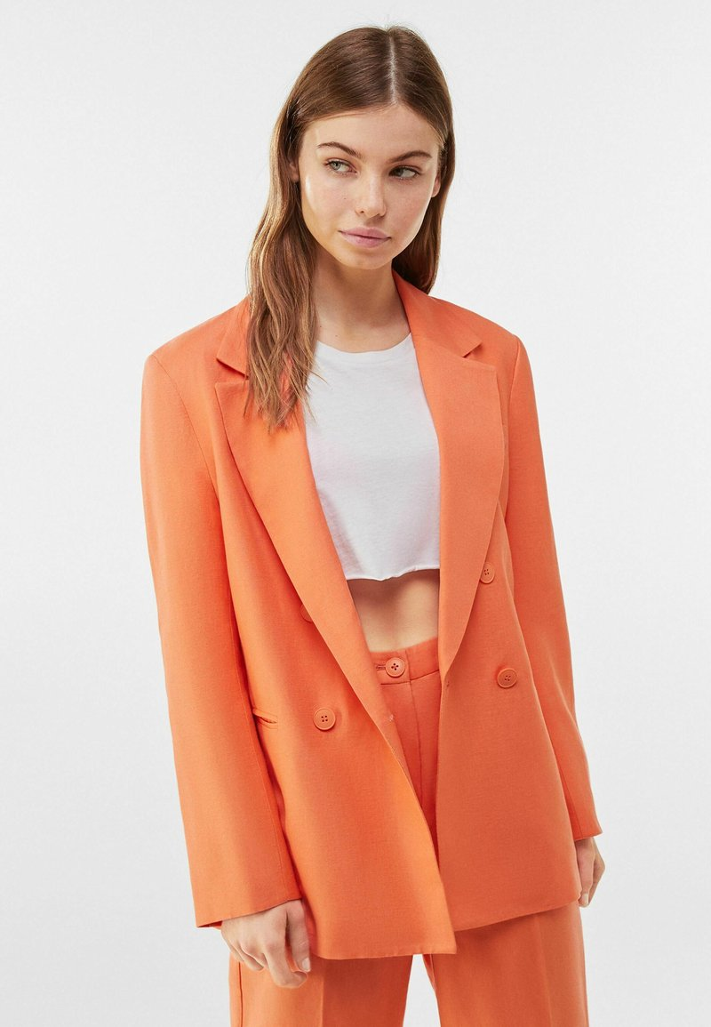Bershka - Blazer - orange