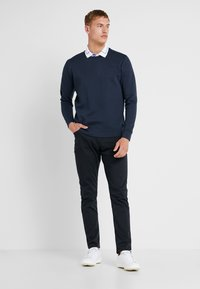 BOSS - SALBO - Sweatshirt - dark blue - 1