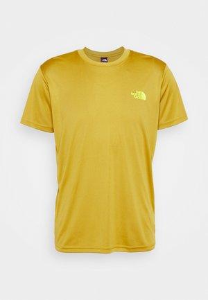 REAXION BOX TEE - T-shirt med print - matcha green