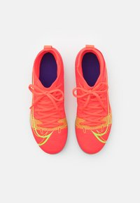 Nike Performance - MERCURIAL 8 CLUB MG UNISEX - Moulded stud football boots - bright crimson/metallic silver - 3