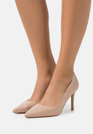 DELE POINT COURT - Klassiske pumps - nude