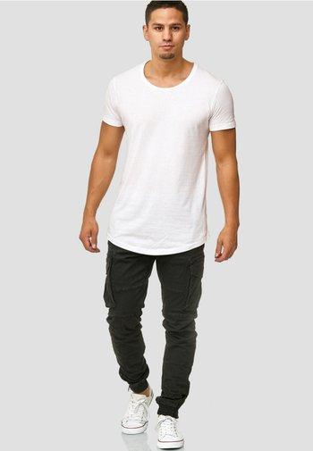 ALEX - Cargo trousers - black