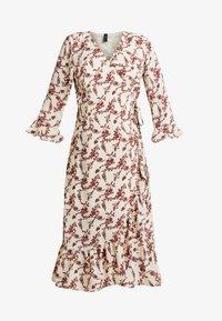 YAS - YASELLI 3/4 DRESS - Maxi dress - crème brûlée - 4