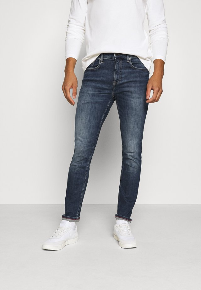 AUSTIN - Jeans Tapered Fit - danny dark blue stretch