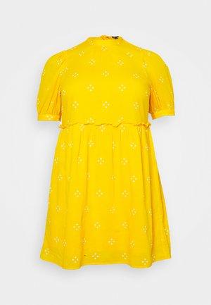 VMASTA 2/4 DRESS  - Day dress - saffron/birch
