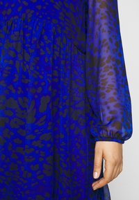 Evans - ANIMAL DRESS - Day dress - blue - 7
