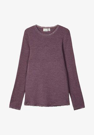 Long sleeved top - flint