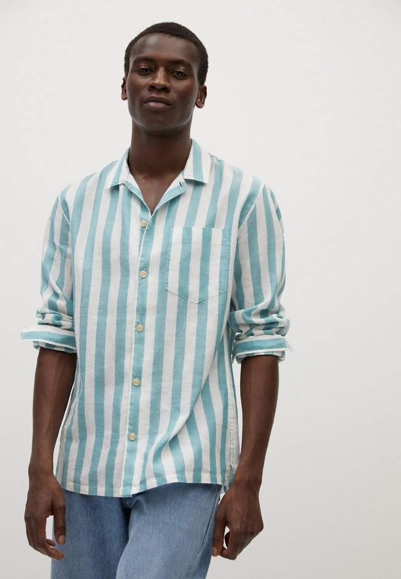Mango - Shirt - wassergrün