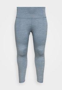 Nike Performance - YOGA RUCHE 7/8 TIGHT PLUS - Pantalón 3/4 de deporte - diffused blue - 4