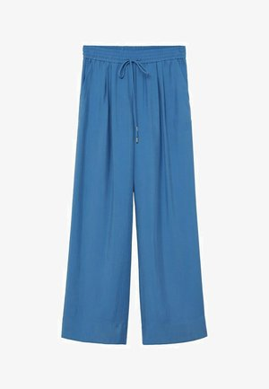 Trousers - blå