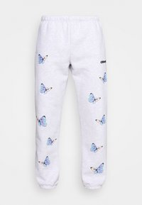 Obey Clothing - KYOTO - Tracksuit bottoms - ash grey - 4