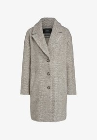 SET - Classic coat - offwhite brown - 5