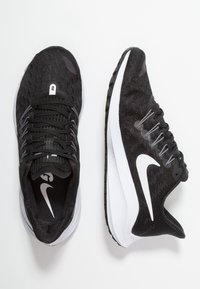 Nike Performance - AIR ZOOM VOMERO 14 - Neutral running shoes - black/white/thunder grey - 1