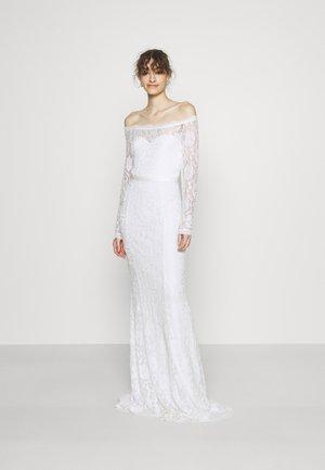 SAY YES GOWN - Společenské šaty - white