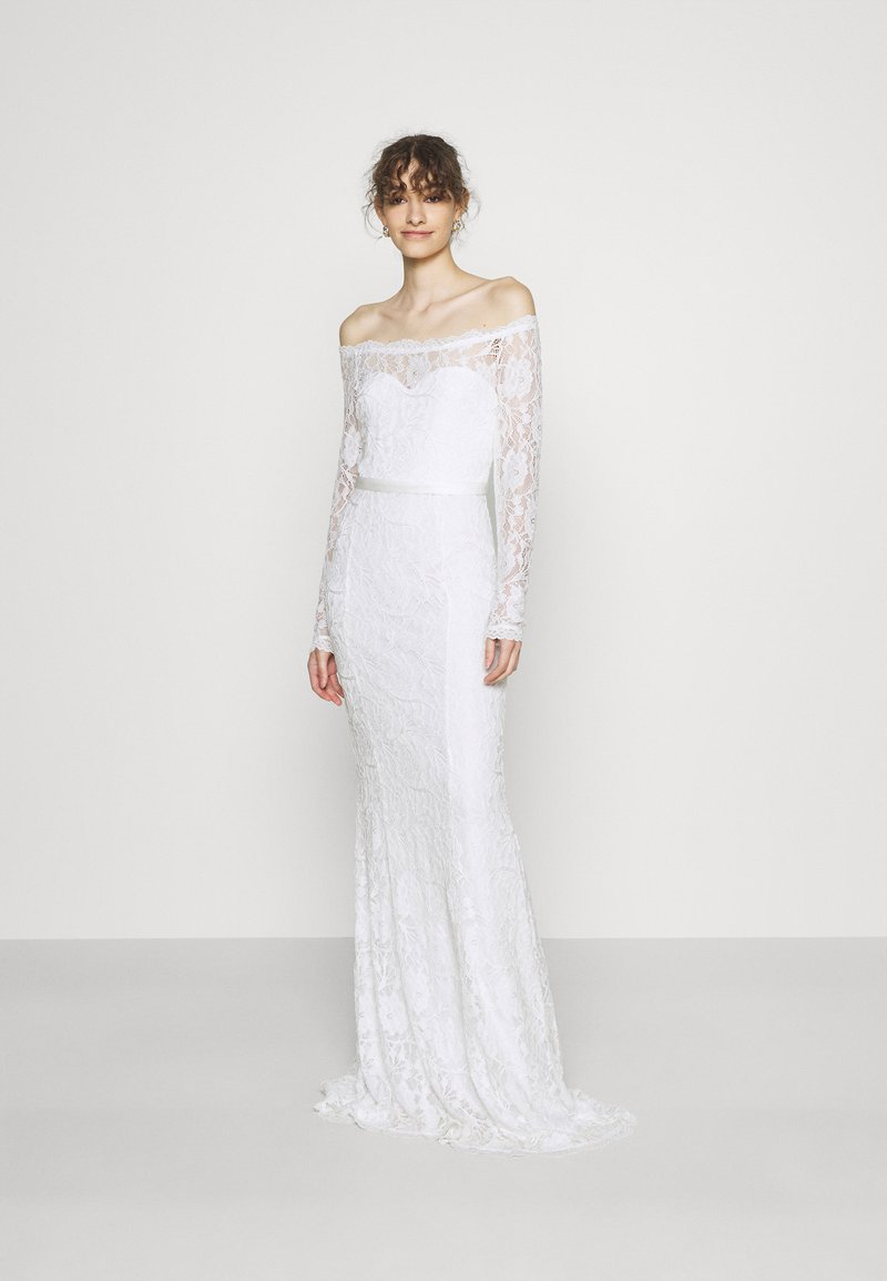 Nly by Nelly - SAY YES GOWN - Occasion wear - white