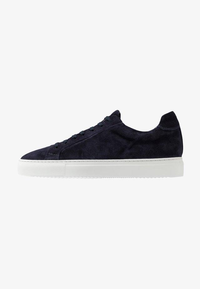 Sneaker low - wash blu/bianco