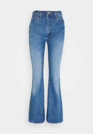 SASHA - Bootcut jeans - blue denim