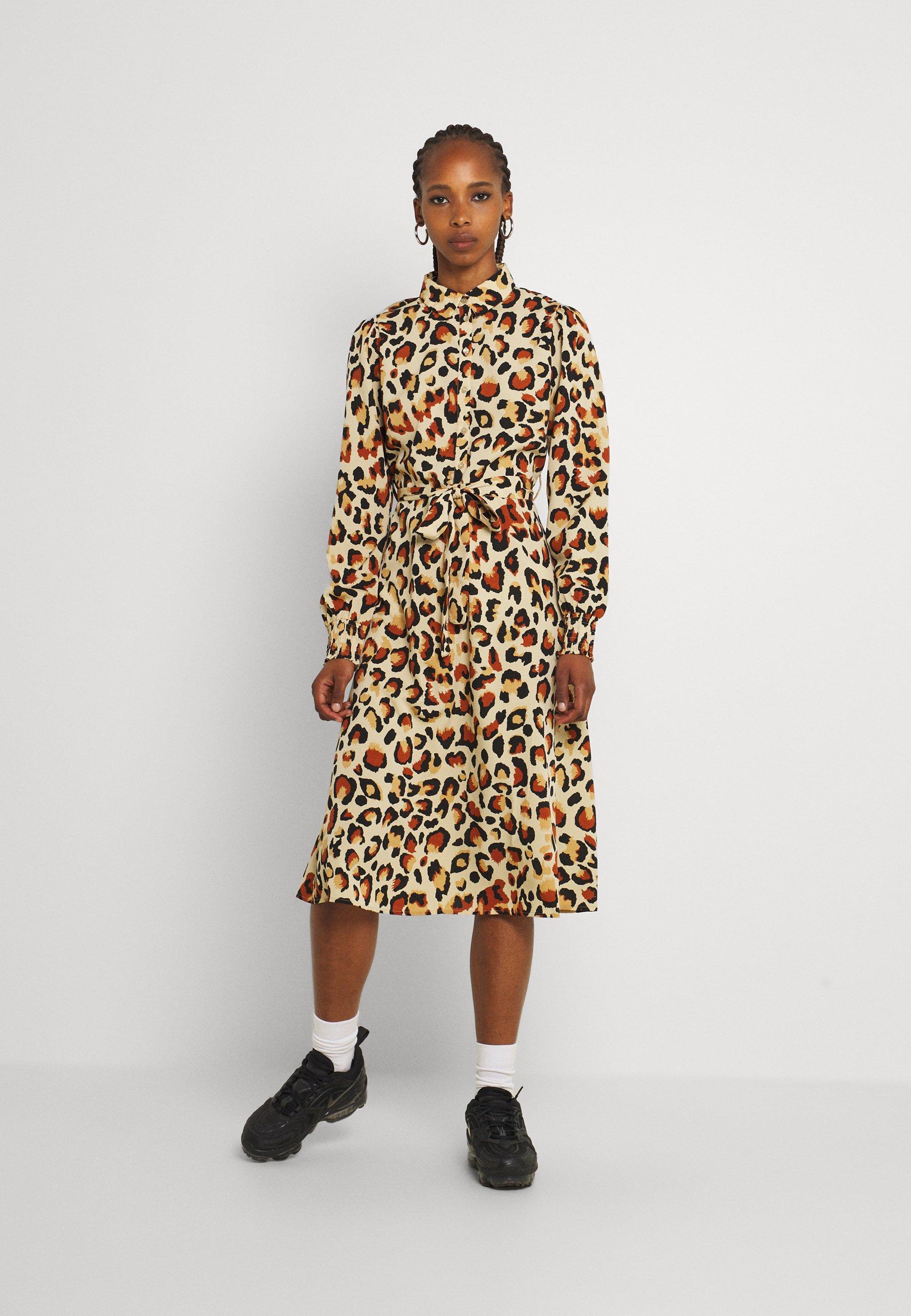 Women PCFALISHI MIDI SHIRT DRESS - Shirt dress