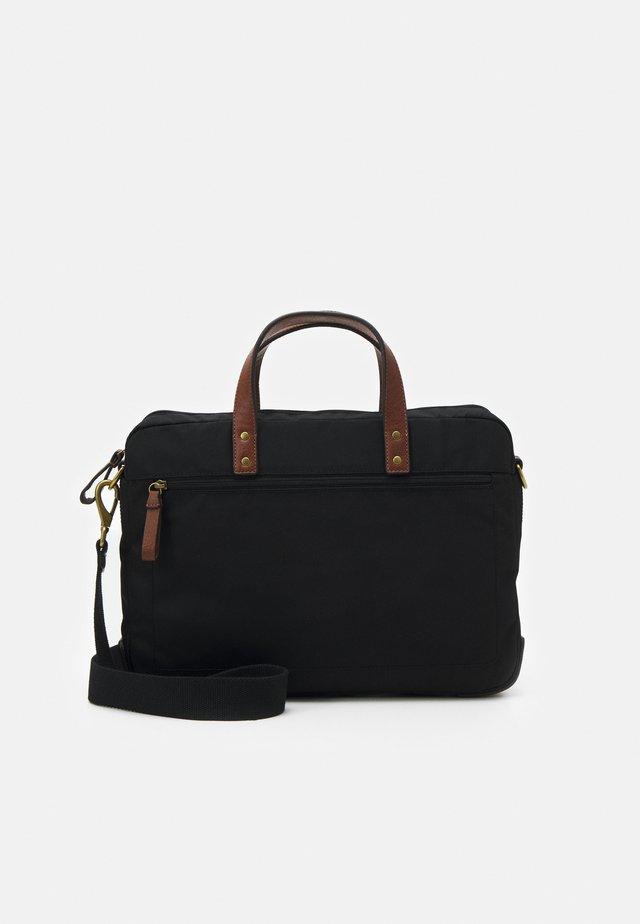 HASKELL - Briefcase - black