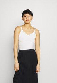 Anna Field - 5 PACK - Top - black/white/mottled light grey - 1
