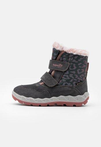 ICEBIRD - Winter boots - grau/rosa