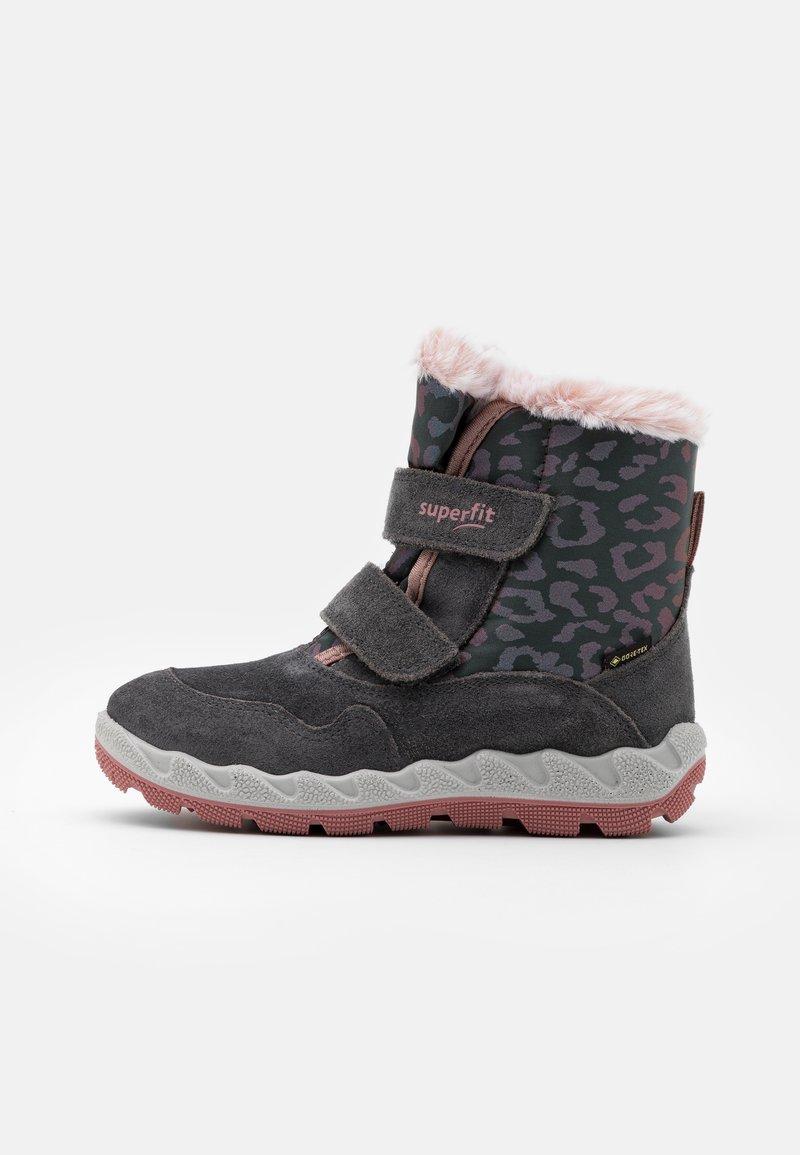 Superfit - ICEBIRD - Zimní obuv - grau/rosa