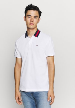 FLAG NECK  - Polo shirt - white