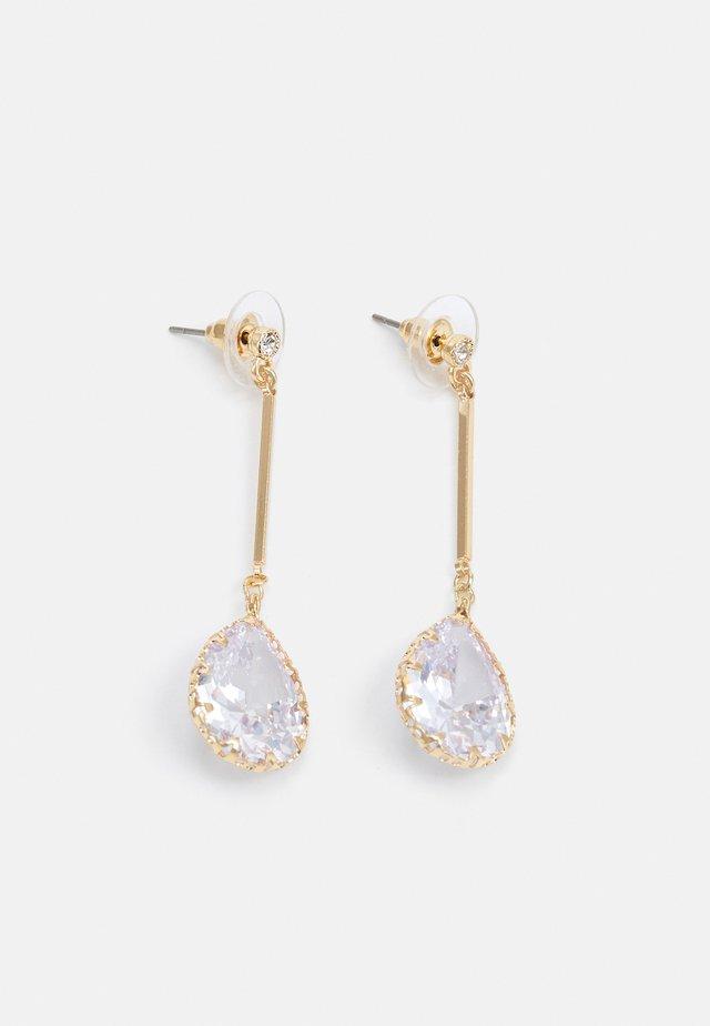 CARES - Boucles d'oreilles - clear on gold-coloured