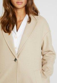 Topshop - JANE CHUCK ON - Classic coat - oat - 4
