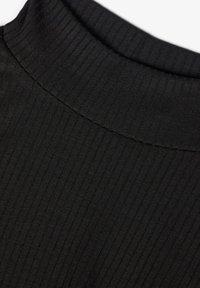 Name it - T-SHIRT LANGÄRMELIGES STEHKRAGEN - Long sleeved top - black - 2