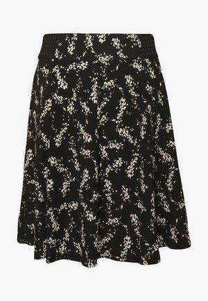 KATHIOCHAINE - Mini skirts  - noir/ecru