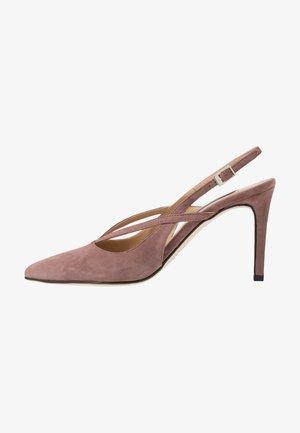 High heels - rose antico