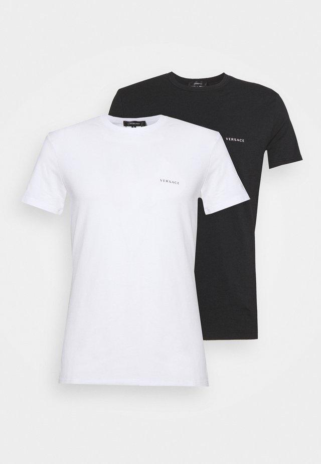 2 PACK - Tílko - black/white