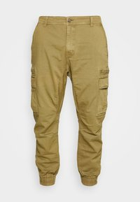 URBAN JOGGER PLUS - Cargo trousers - duster khaki