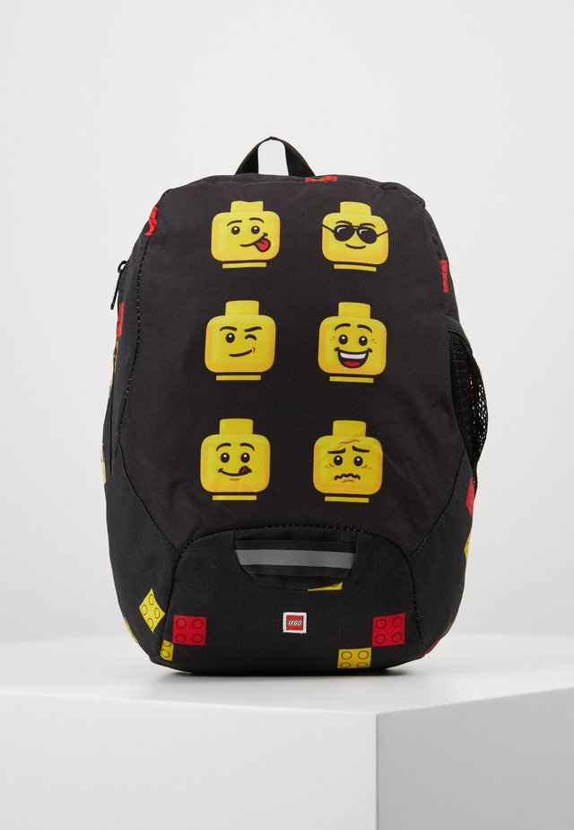 FACES KINDERGARTEN BACKPACK - Sac à dos - schwarz