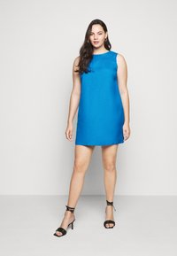 CAPSULE by Simply Be - CROCHET SHIFT DRESS - Day dress - azure blue - 1