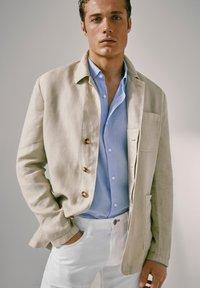 Massimo Dutti - blazer - beige - 0