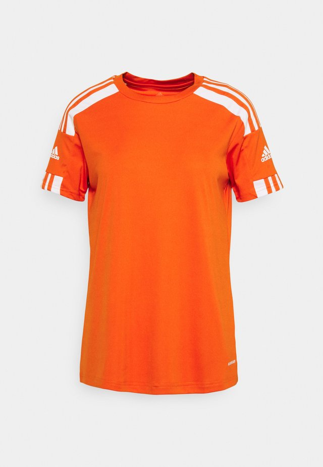 SQUADRA 21 - T-shirt print - team orange/white
