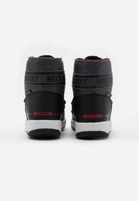 Moon Boot - BOY MID  - Botas para la nieve - black /castlerock - 2