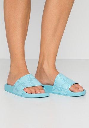 Sandály do bazénu - tourquise