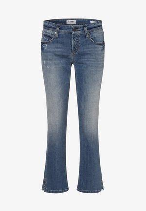 Bootcut jeans - light stone